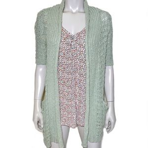 {anthropologie} Moth chunky knit cardigan